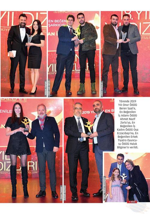 diva altınyıldız classic yılın yıldızları ödülü ahmet nazif zorlu