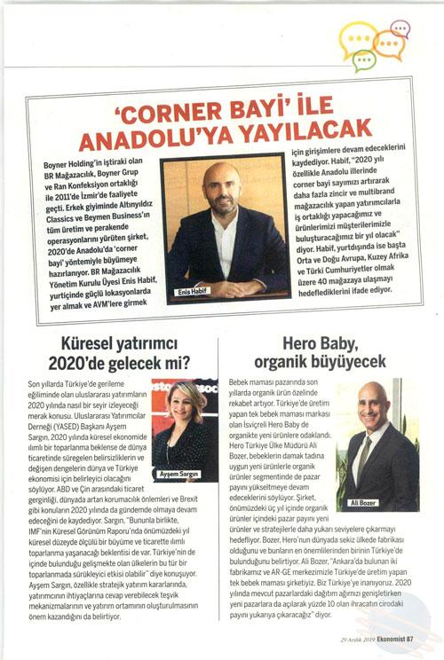 Ekonomist - Corner Bayi ile Anadoluya yayılacak