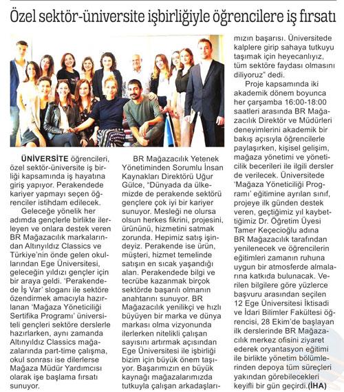 Ticari Hayat - Özel sektör üniversite işbirliğiyle öğrencilere iş fırsatı